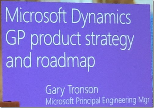 Dynamics GP product strategy and roadmap
