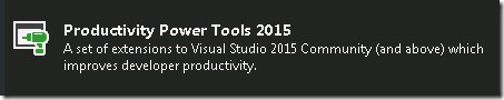 Productivity Power Tools 2015